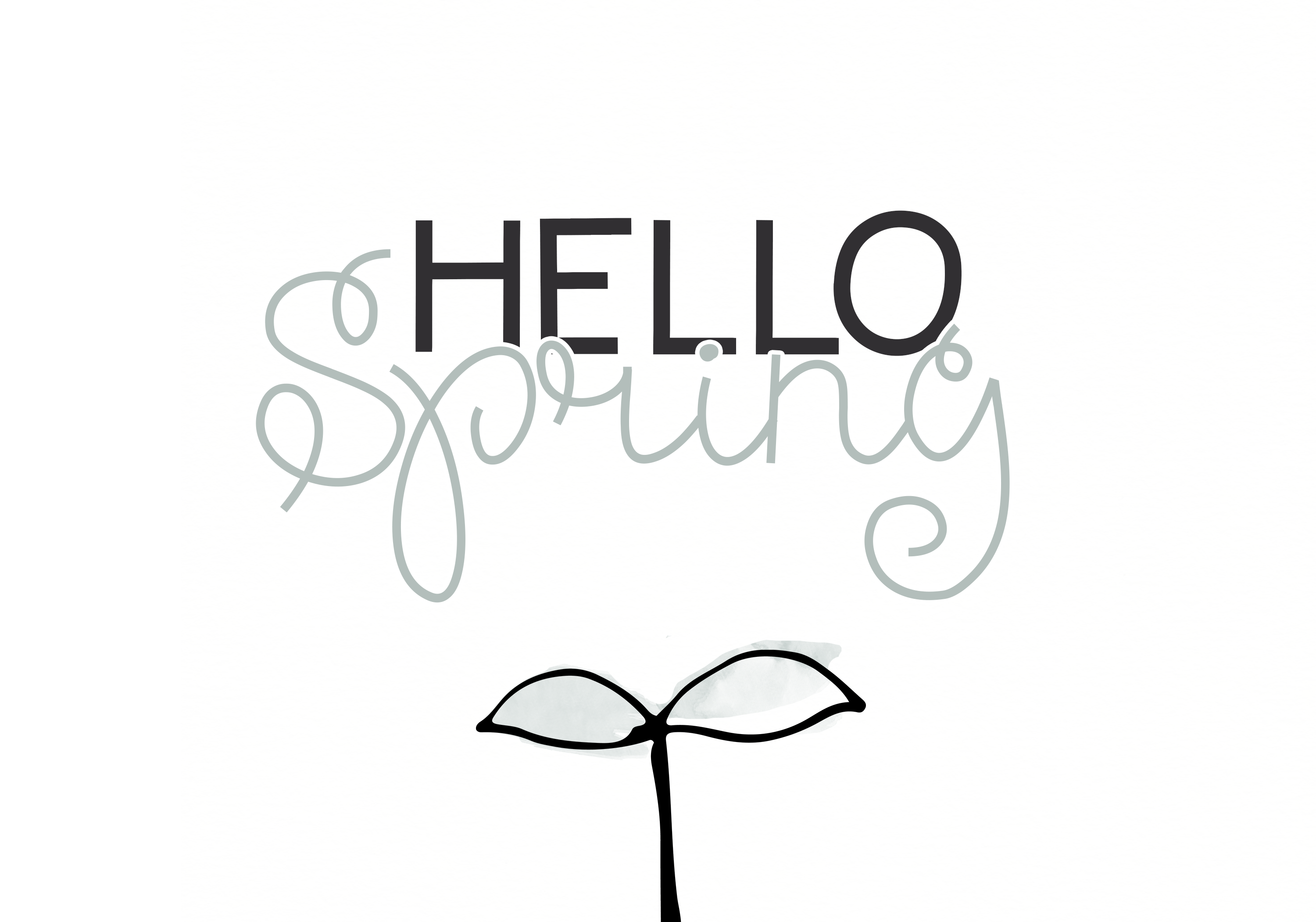 Spring Sunshine - A Serif & Script Font Duo example image 2