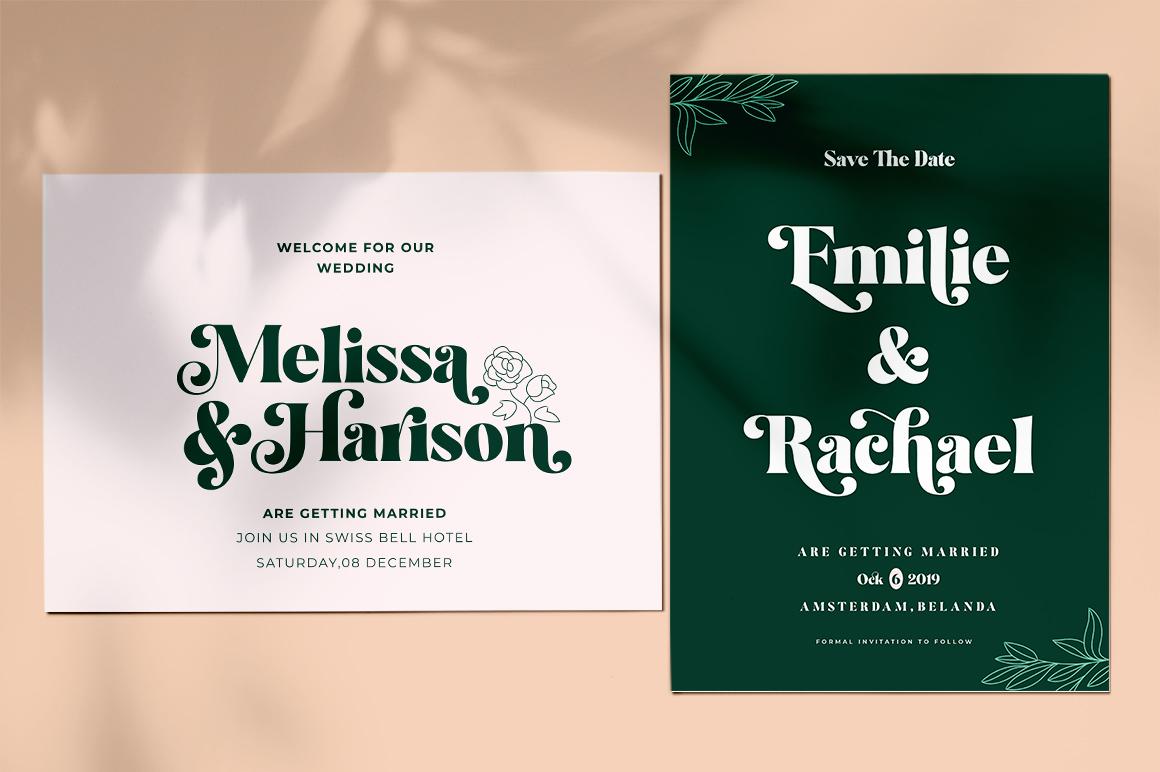 Restgold Serif Font example image 9