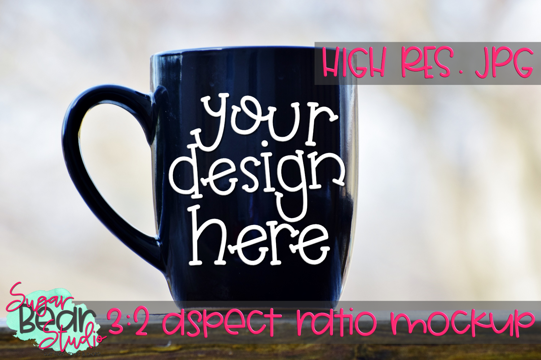 Left Handed Mug Mockup example image 1