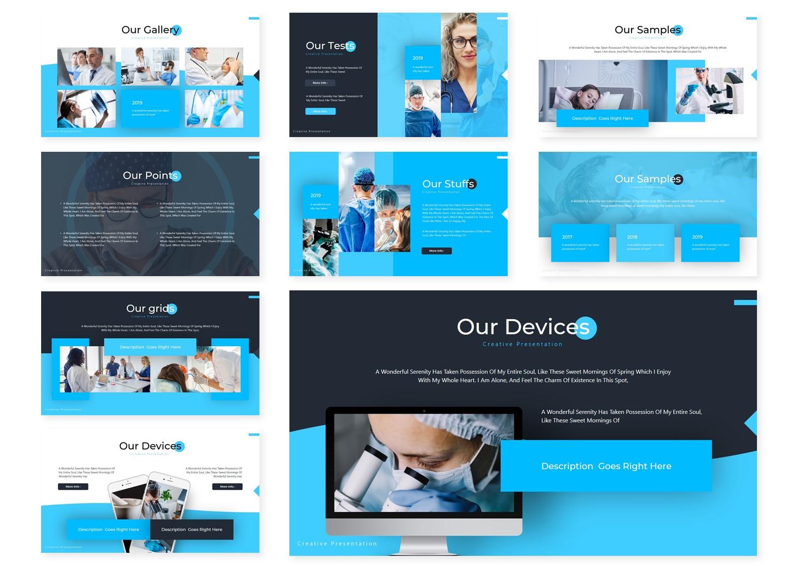 Medicaz | Powerpoint, Keynote, GoogleSlides Template example image 5
