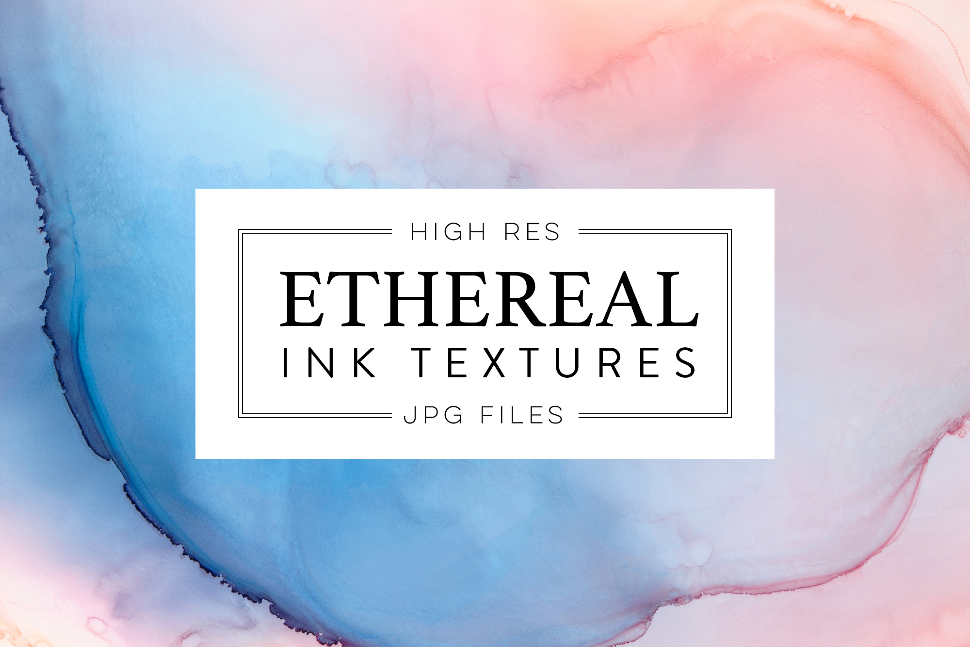 Ethereal Ink Texture Collection 2 example image 1