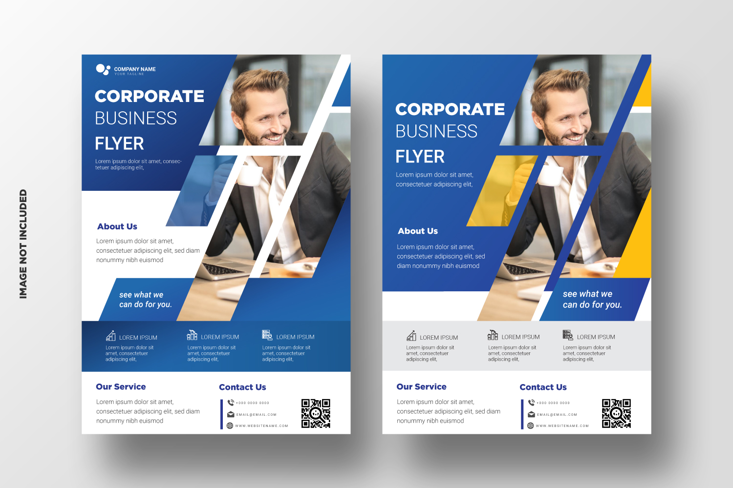 Business Flyer Template. Vol-13 example image 1