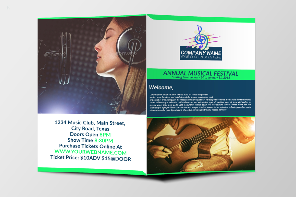 Music Festiva Bifold example image 7