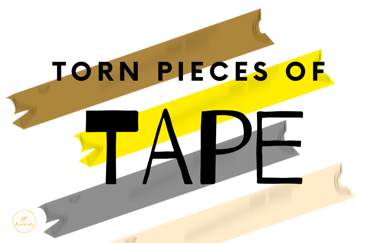 Pieces of Torn Adhesive Tape example image 1