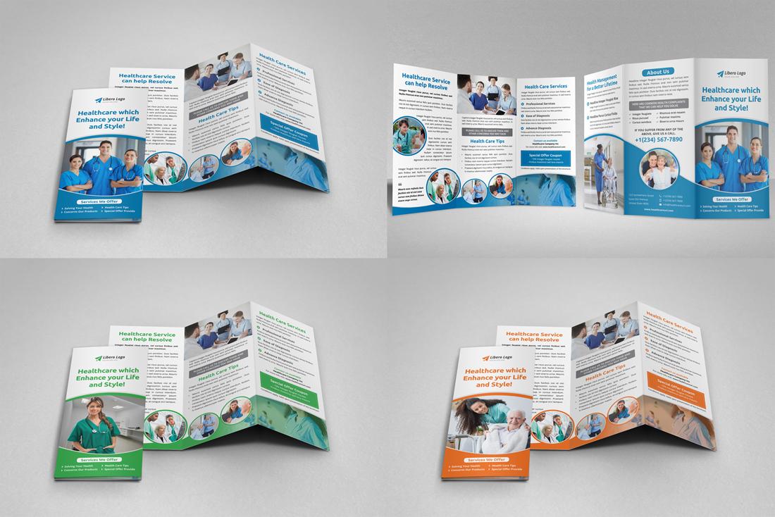 Medical HealthCare Brochure Bundle example image 17