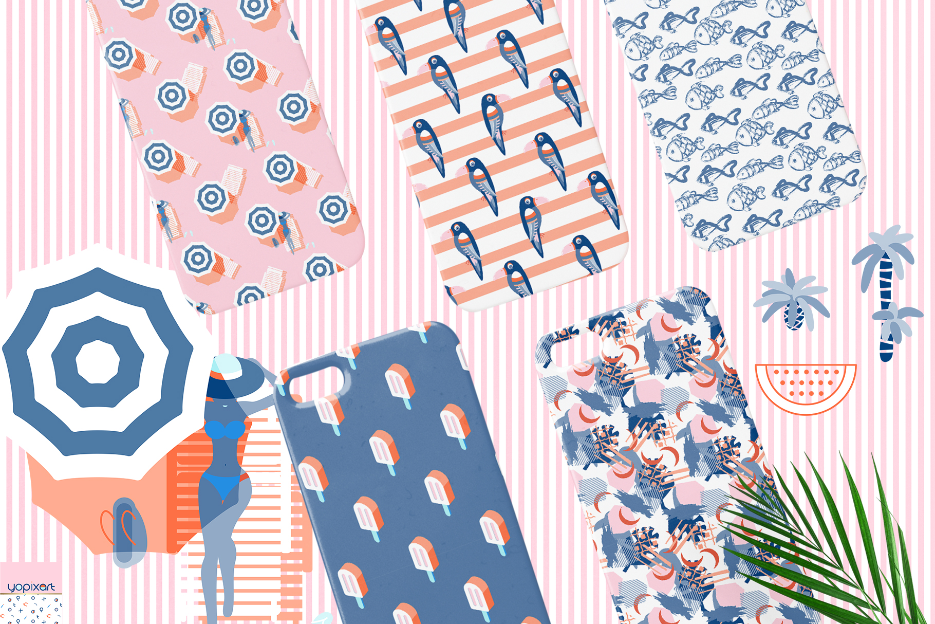Summer Vibes - Graphics & Patterns example image 3