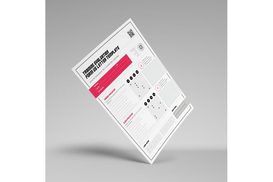 Training Evaluation Form US Letter Template example image 6