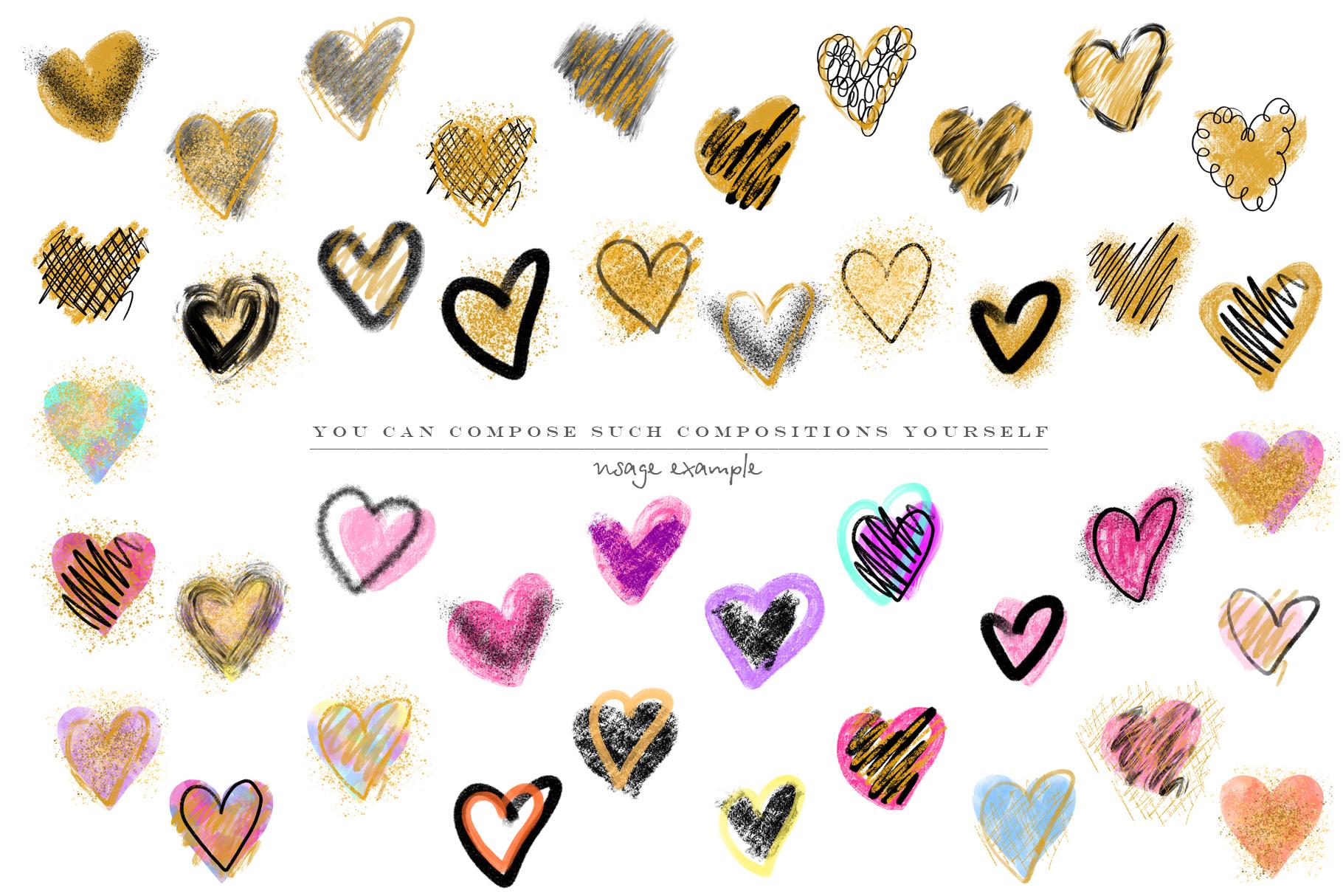 Stylish hearts example image 7