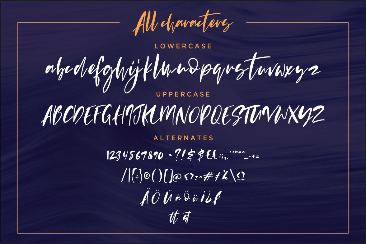Evangeline Modern Script example image 7