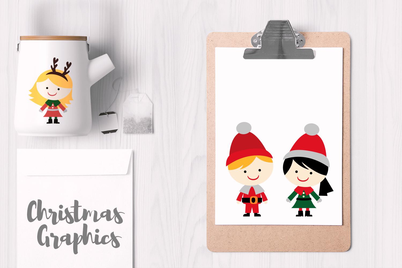 Christmas Kids Illustrations example image 2