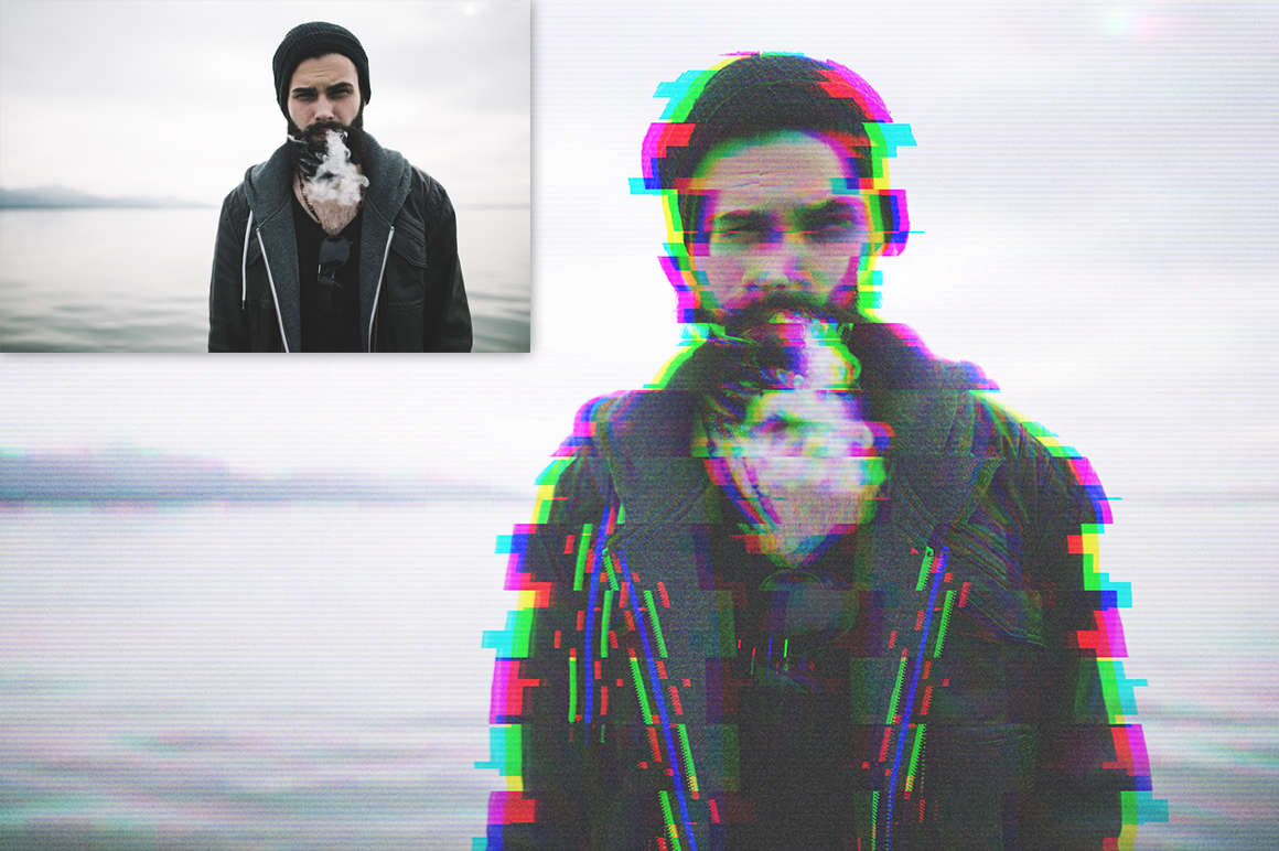 Glitch Effect Action example image 2