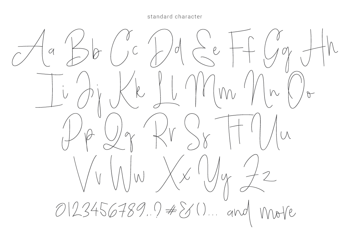 Bright Daddy typeface example image 6