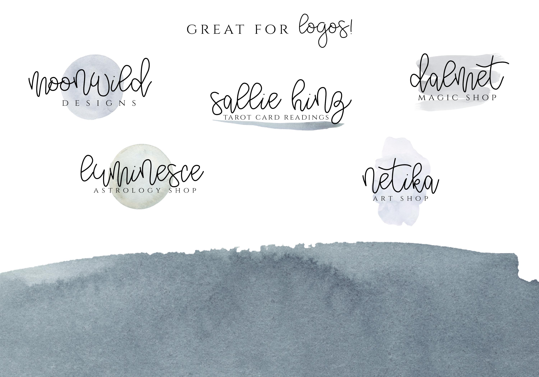 Alpenglow - Bouncy Script Font example image 3