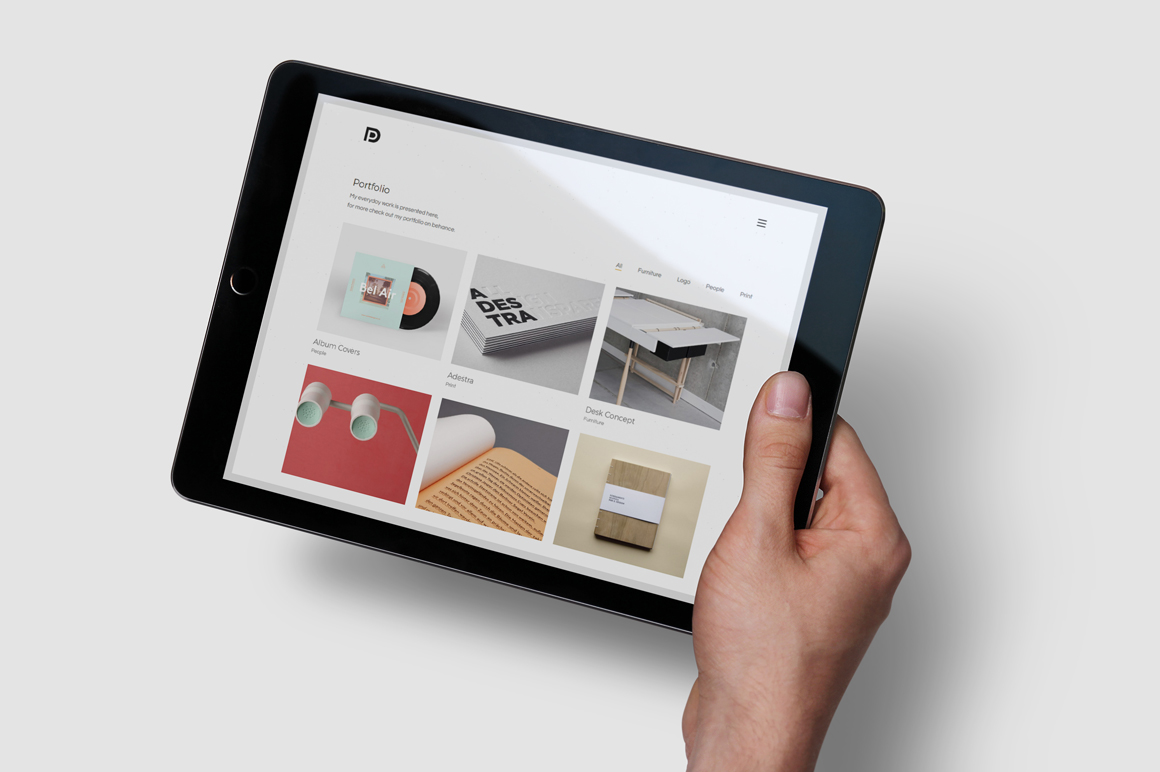 iPad Air Studio Mockups example image 6