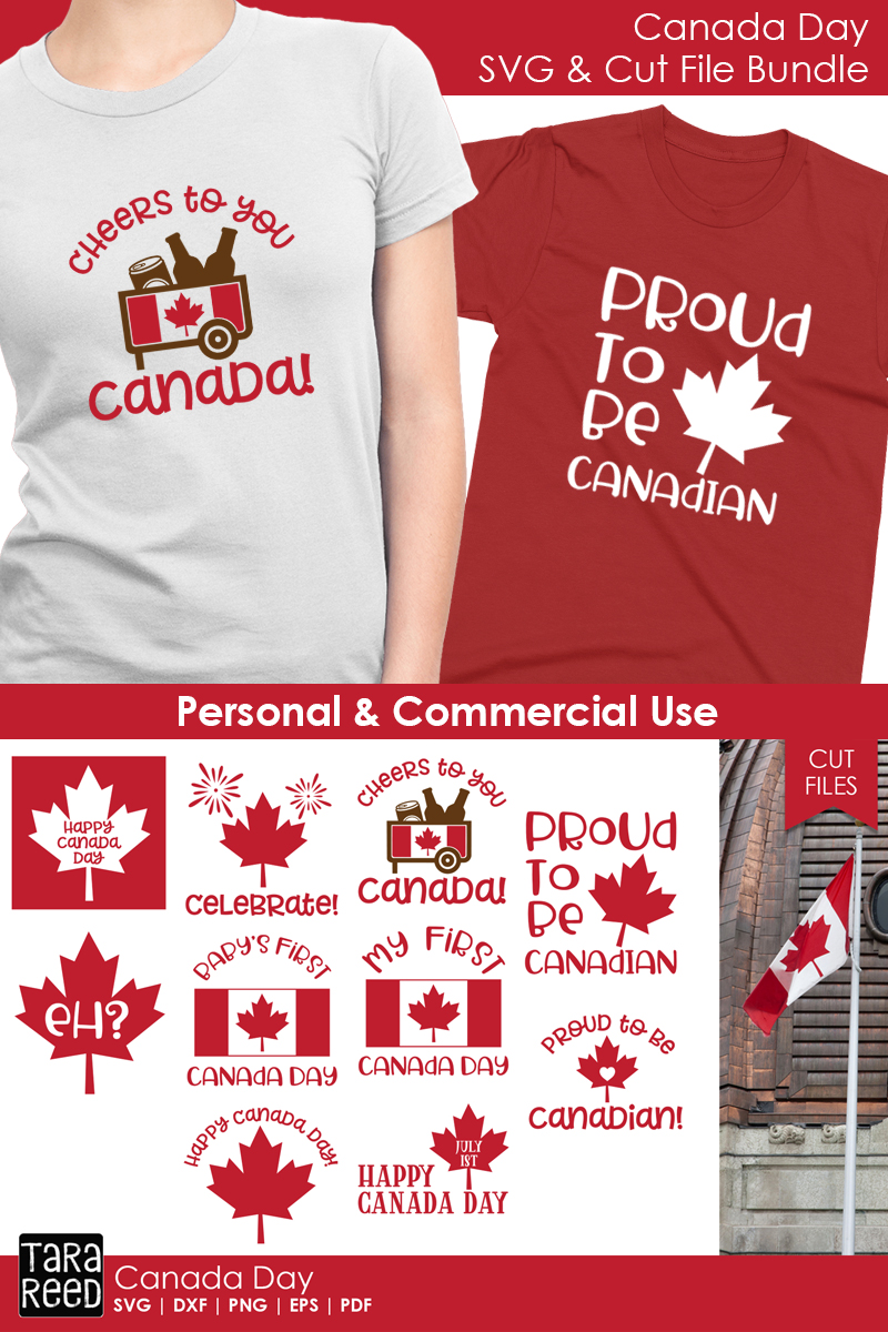 Canada Day - Canadian SVG and Cut Files for Crafters example image 3