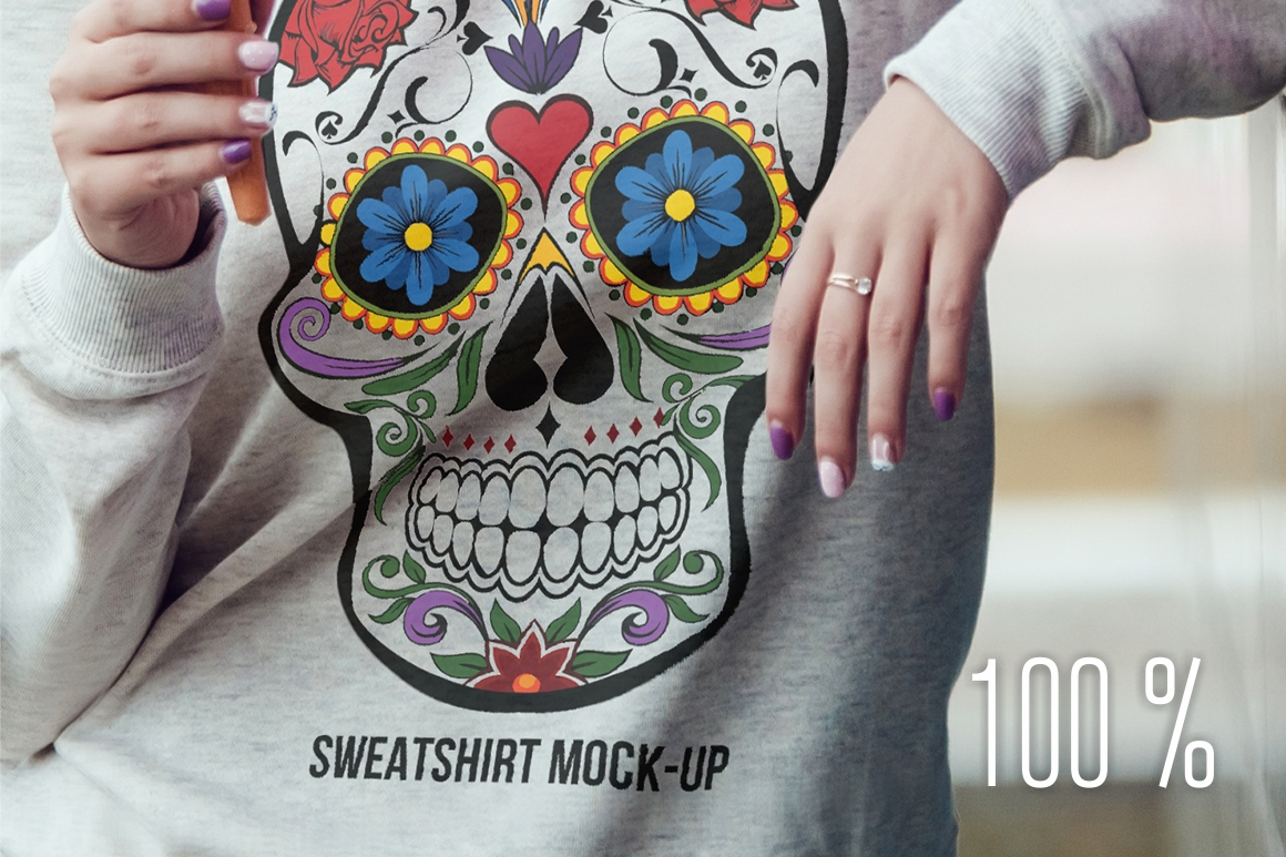 Sweatshirt Mock-Up Vol. 1 example image 4