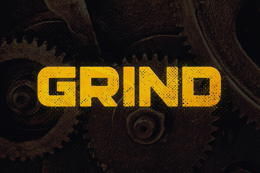 Grind Typeface example image 1