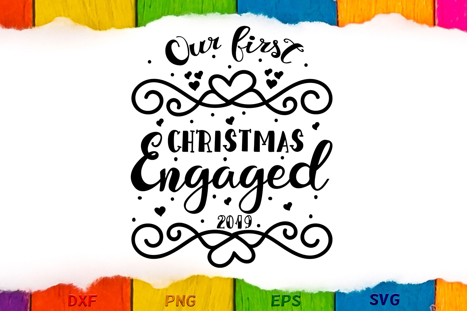 Our first Christmas engaged example image 2