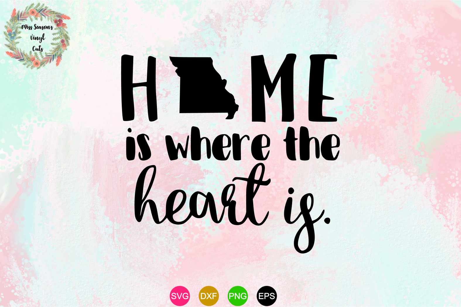 Home is where Missouri is SVG , Dxf, Eps, Png example image 1