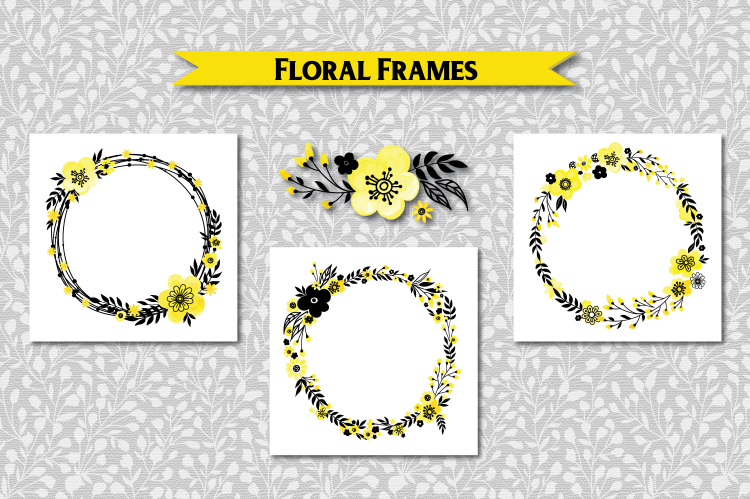 Yellow Floral Collection example image 5