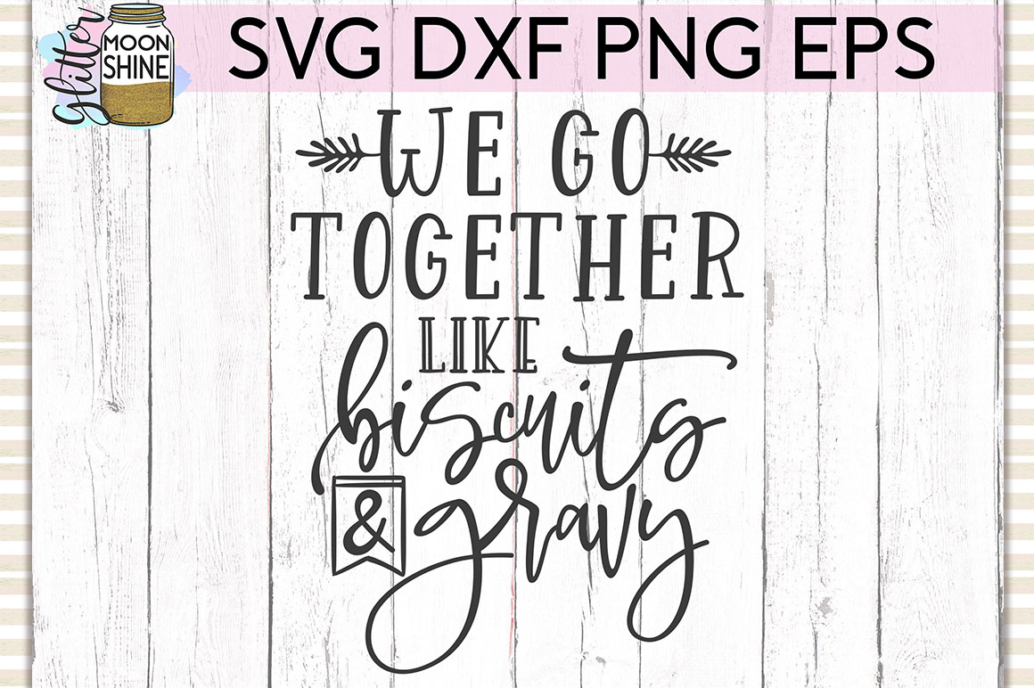 We Go Together SVG DXF PNG EPS Cutting Files example image 1