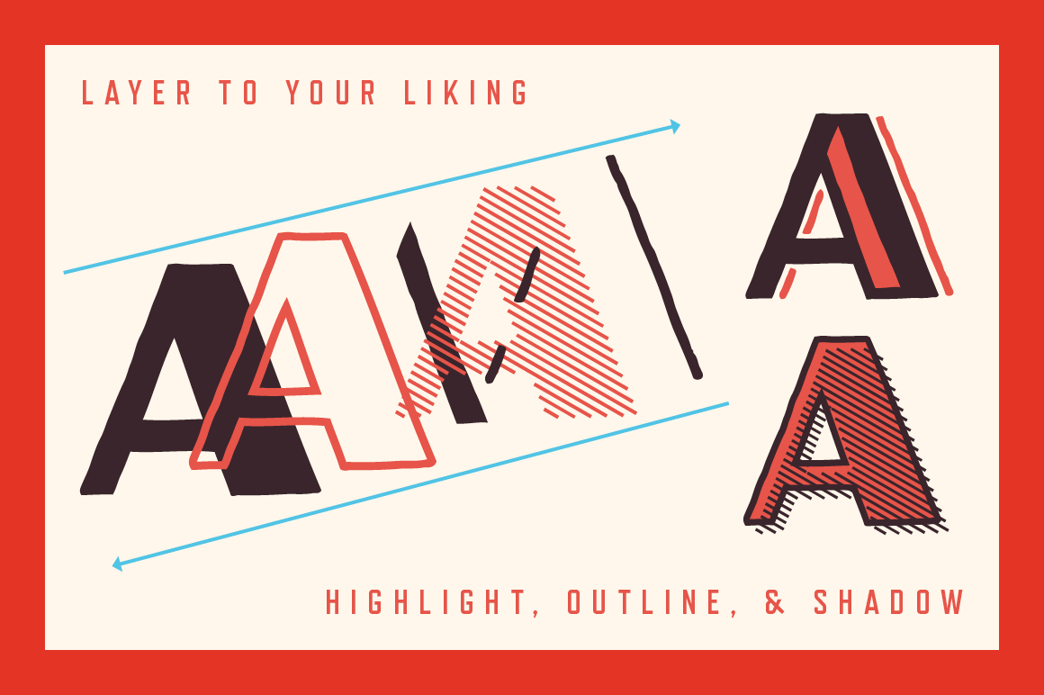 Oilvare Font Family example image 5