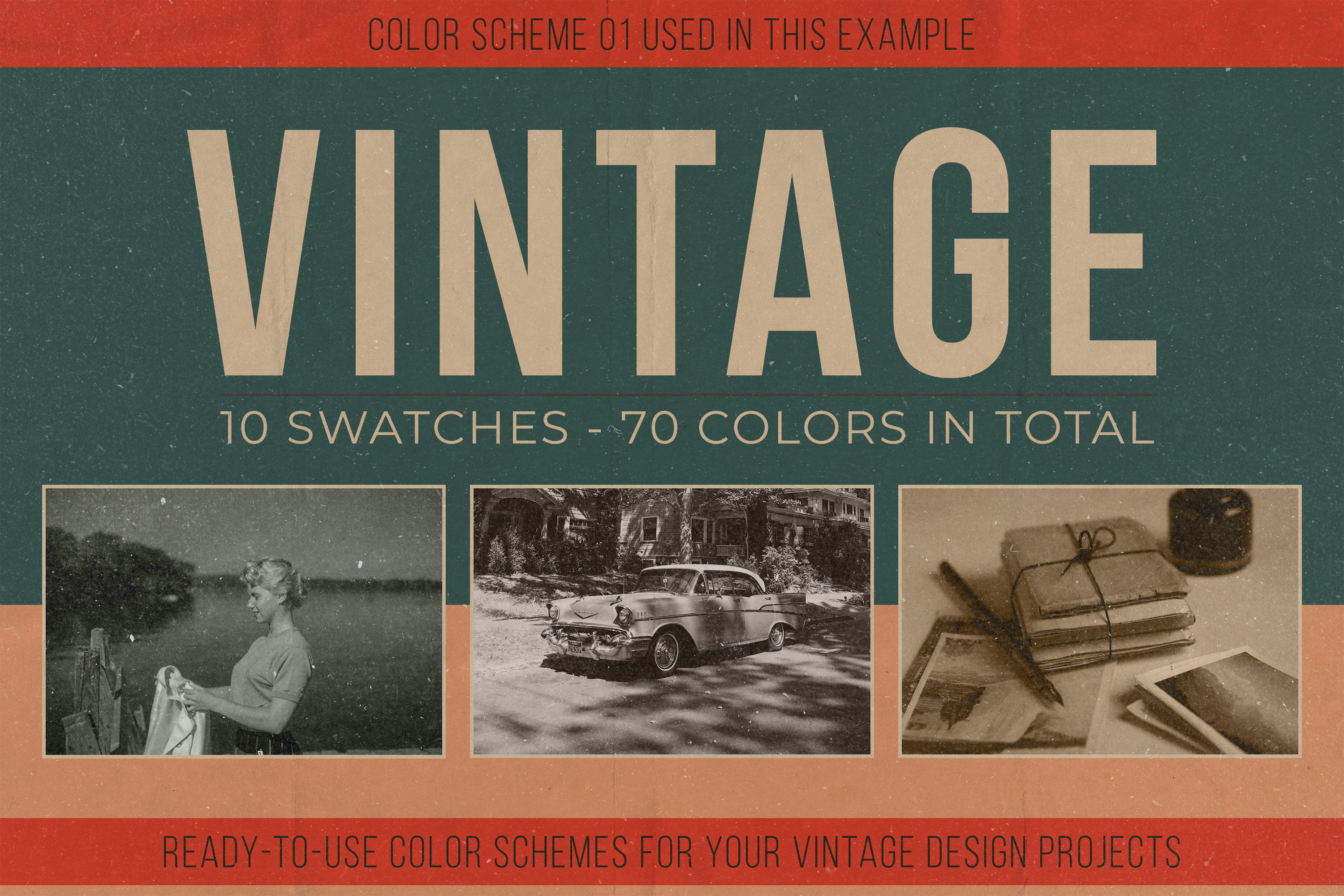 Vintage Swatches Pack example image 3