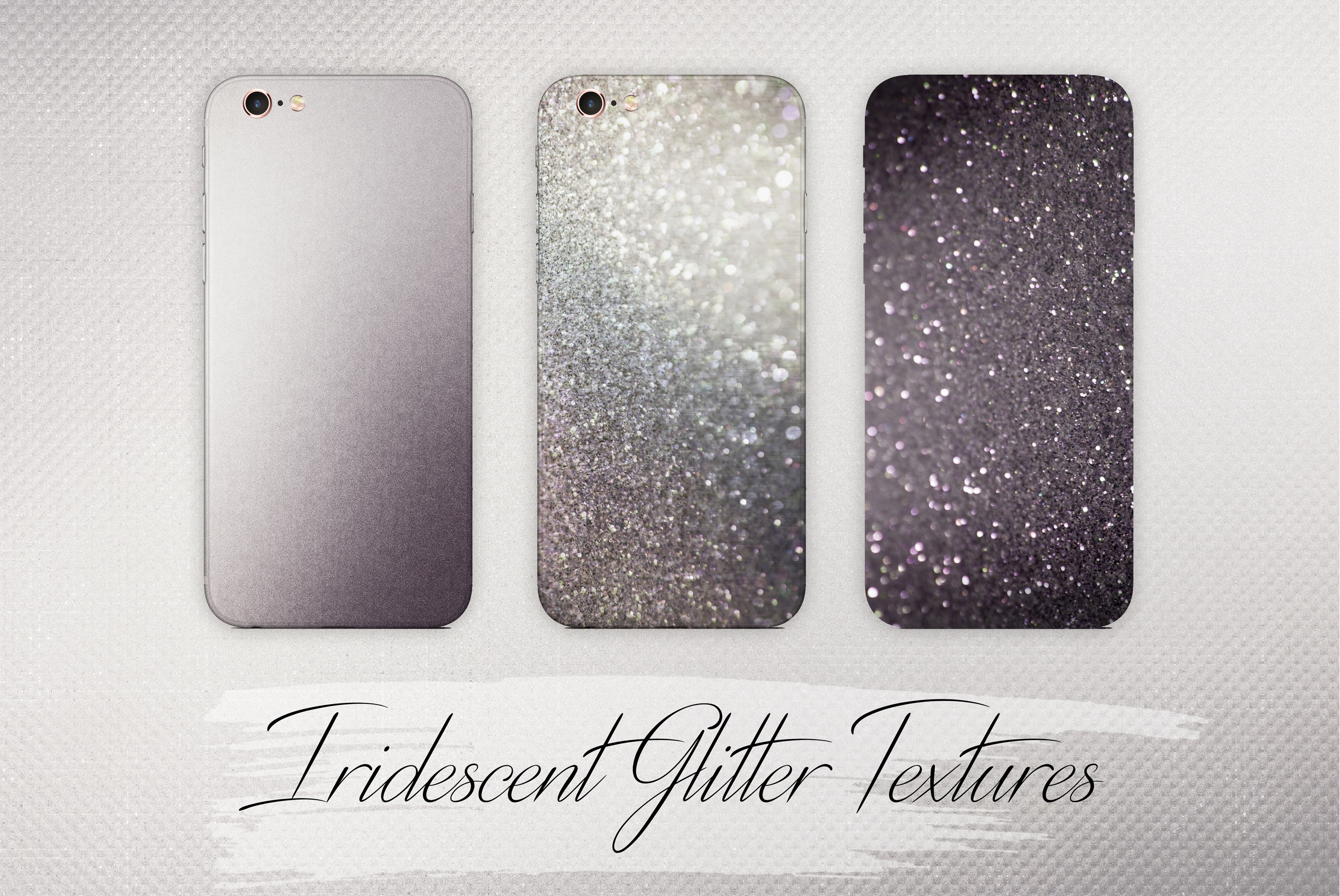 Iridescent and Glitter Foil Textures example image 4