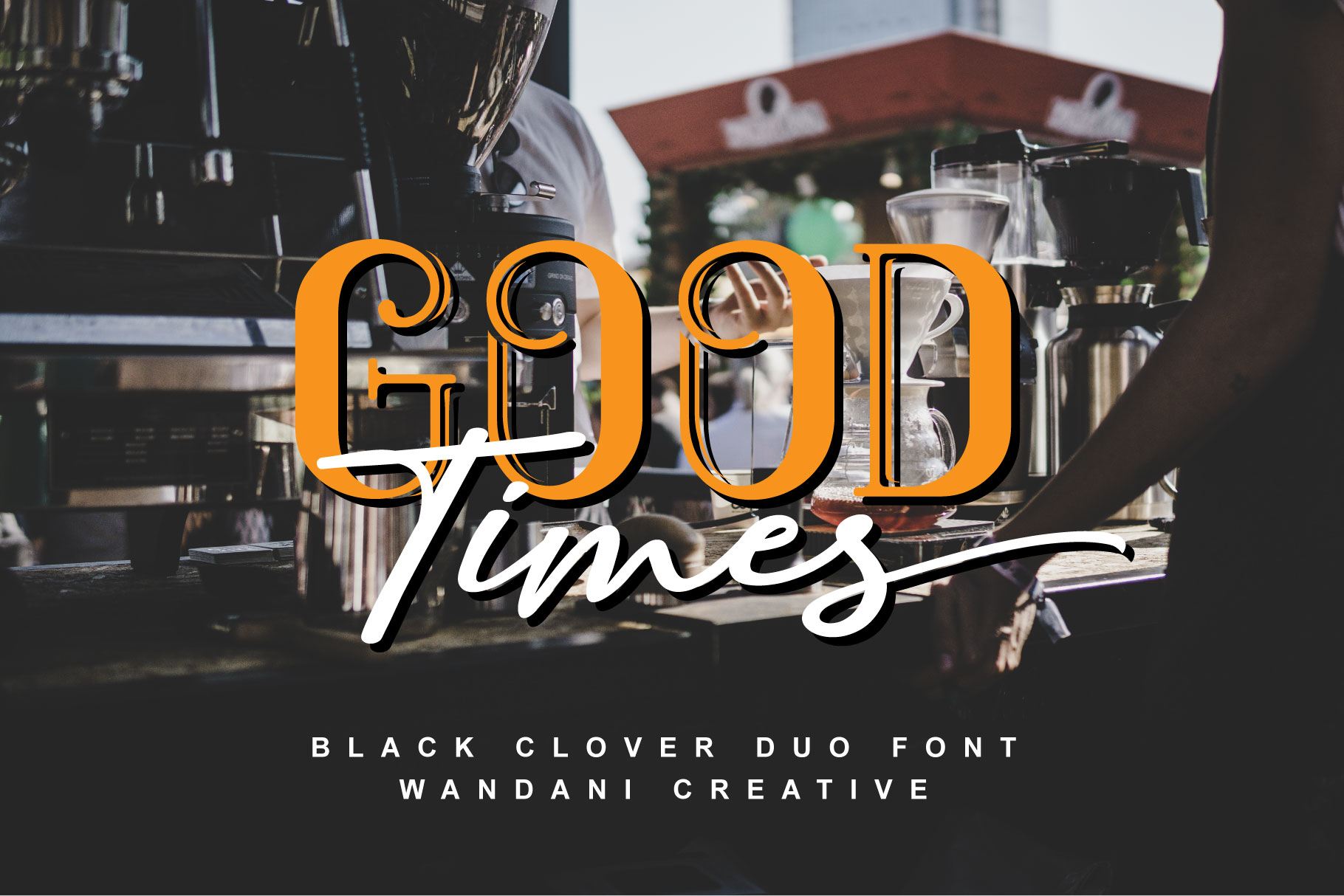 Black Clover | Font Duo example image 9