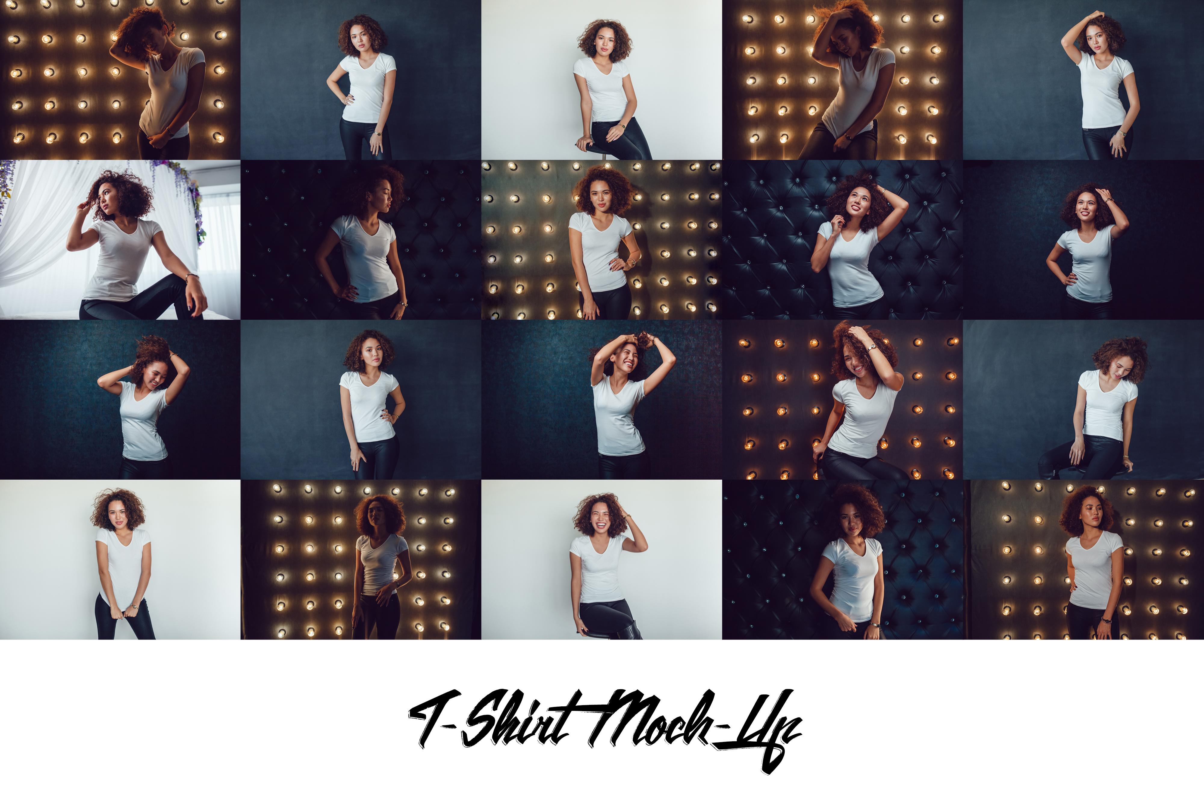 T-Shirt Mock-Up Vol.19 2017 example image 2