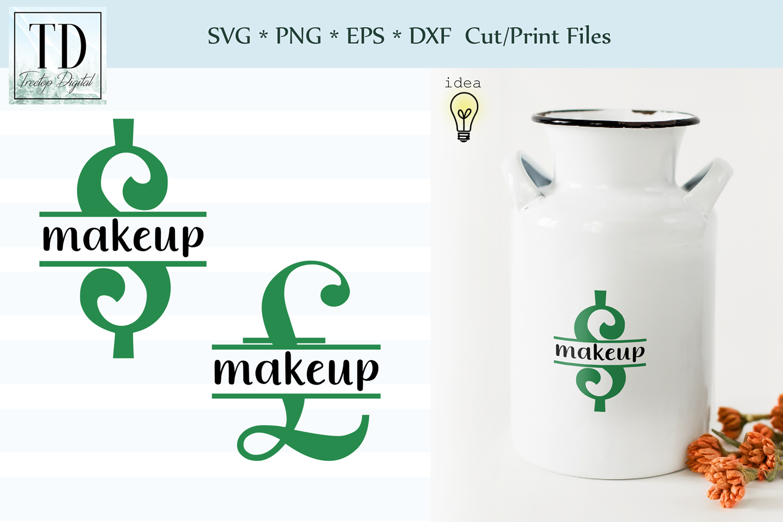 Saving for Makeup Bank Design, Savings Series, SVG example image 1