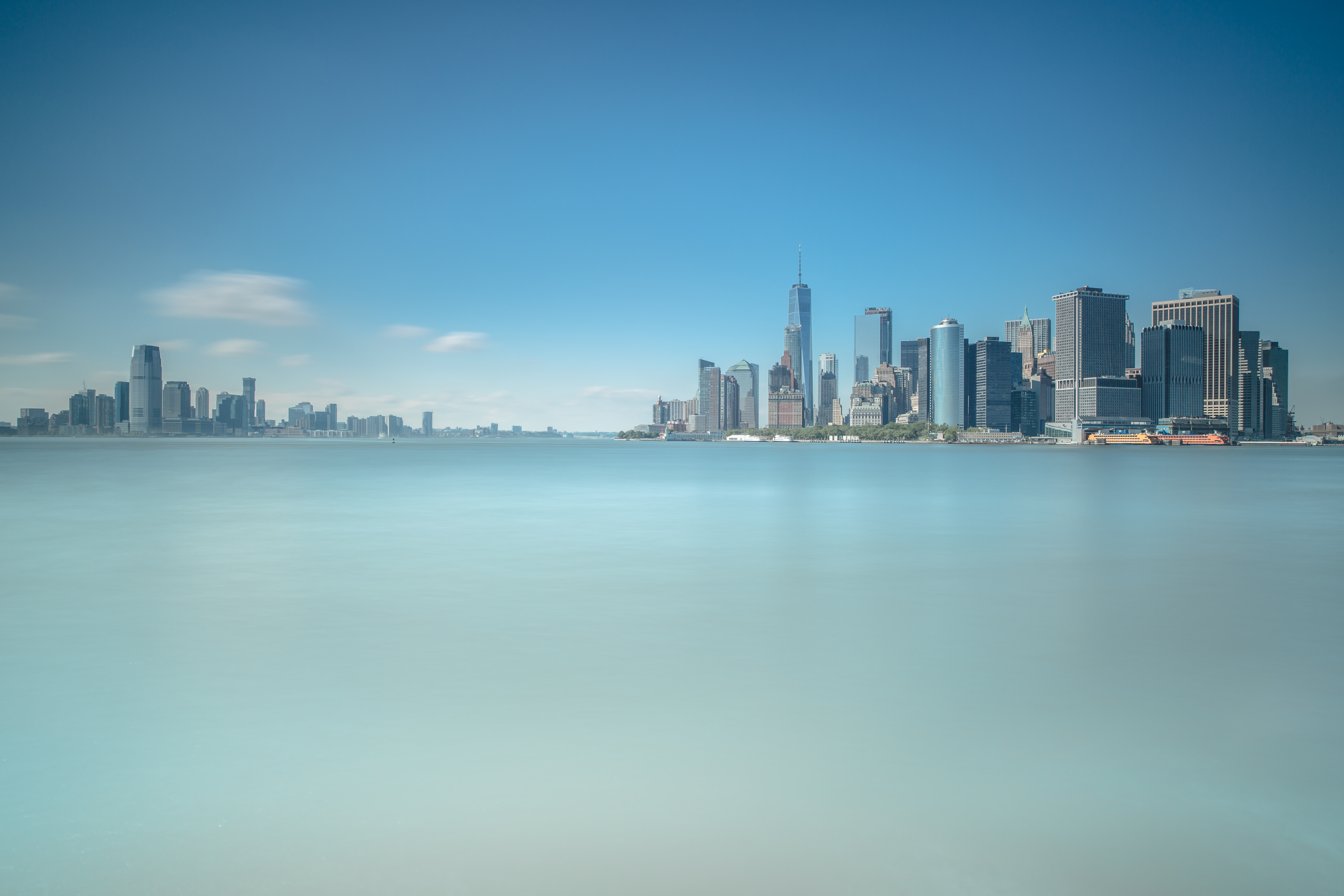 Jersey city and Downtown Manhattan view example image 1