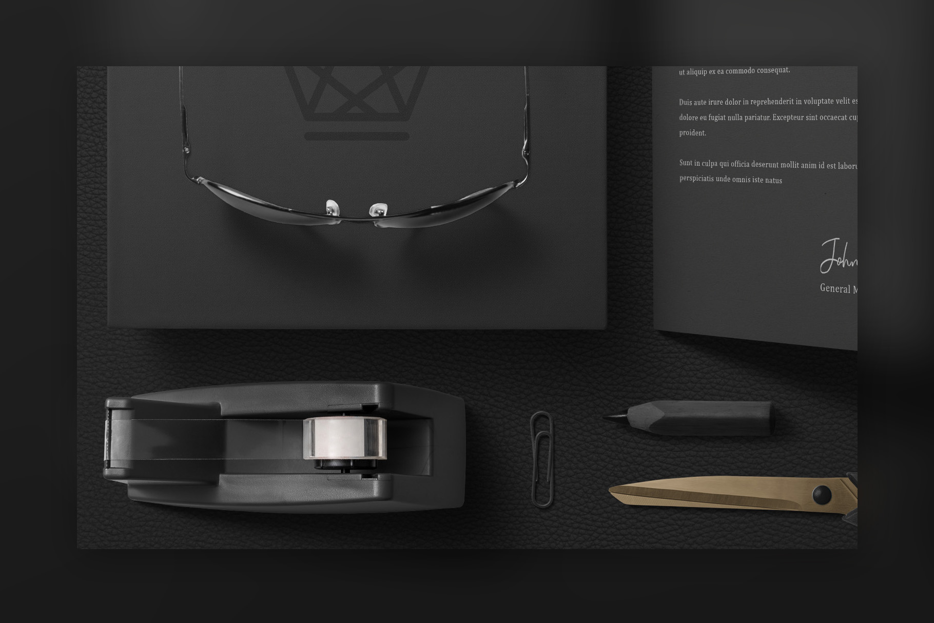 Black Branding Mockups Vol.2 example image 4