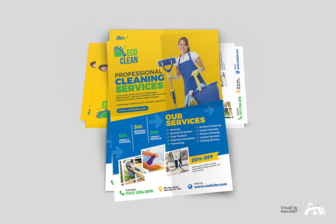 Cleaning Services Flyer example image 4