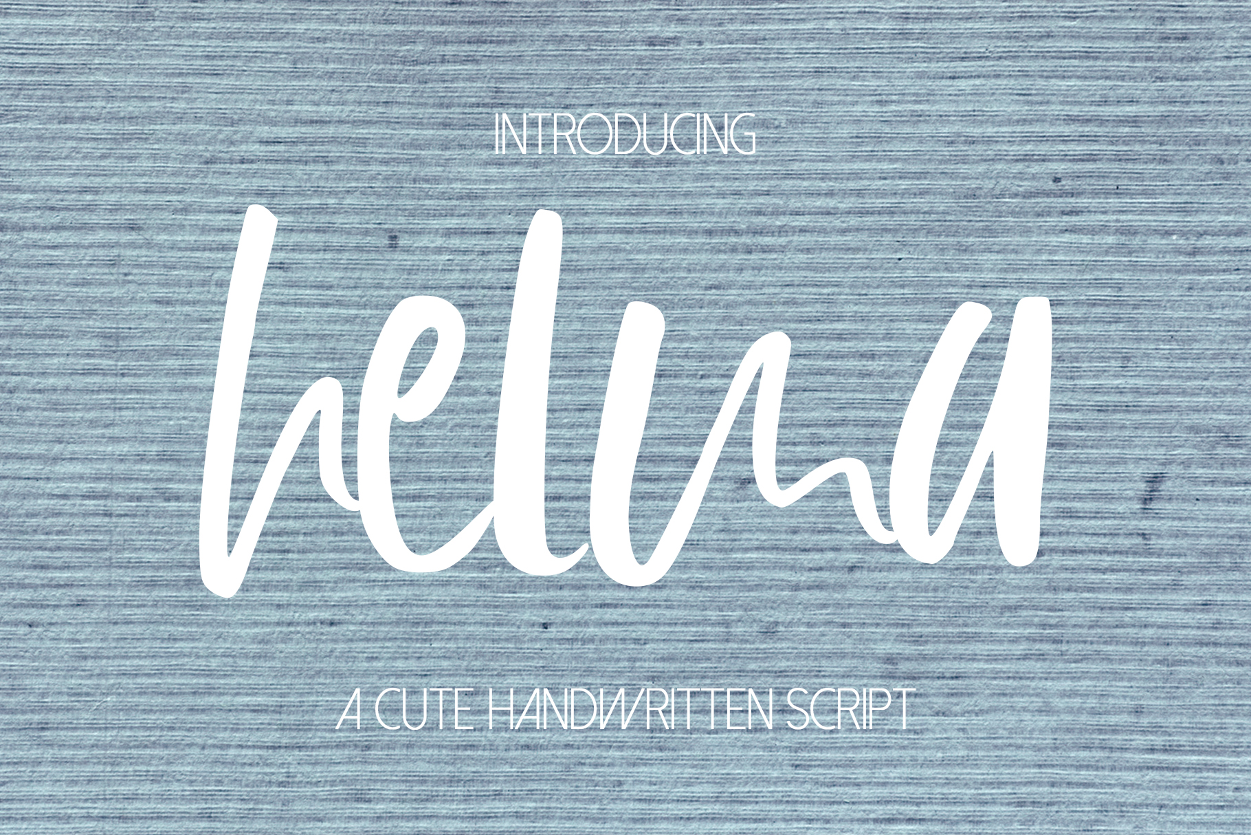 Helma Font example image 1