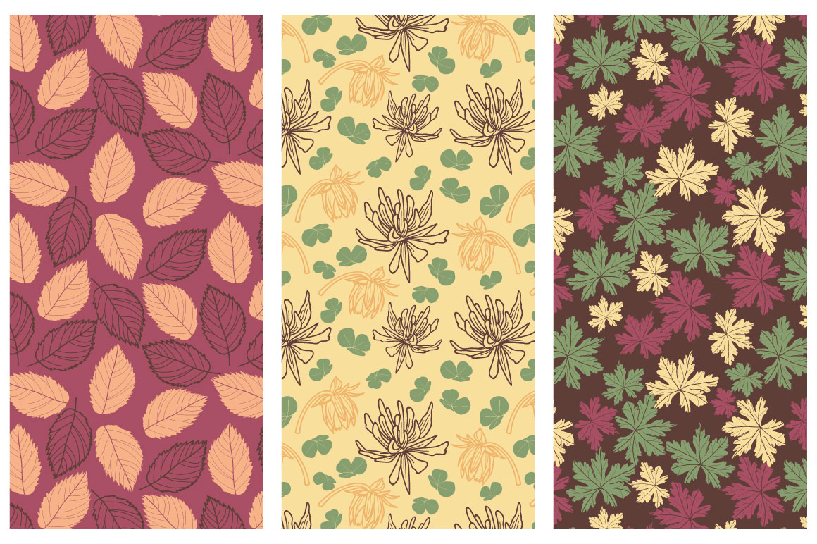 50 hand drawn floral elements example image 4