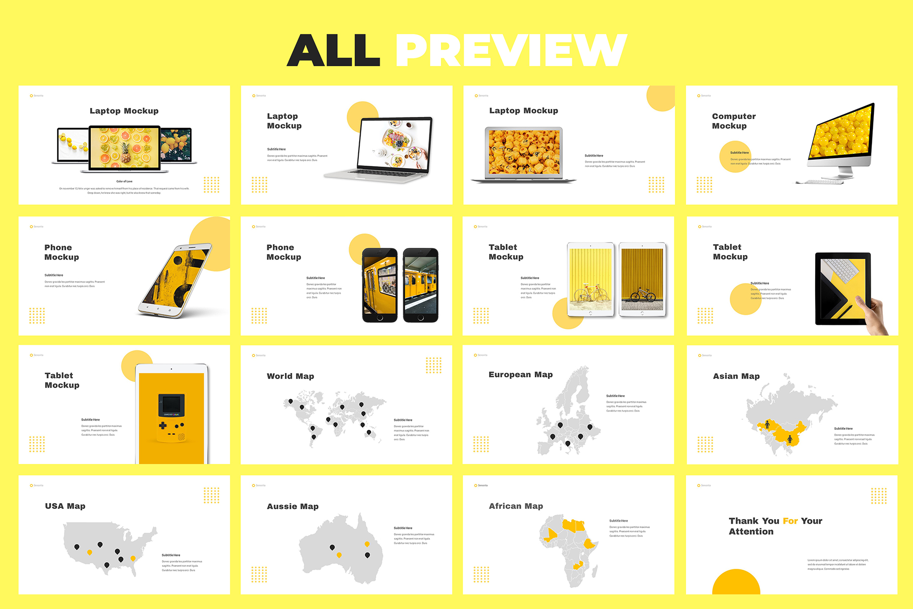 Senorita Brand Guideline Powerpoint example image 7