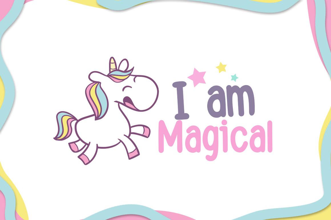 Happy Unicorn example image 3