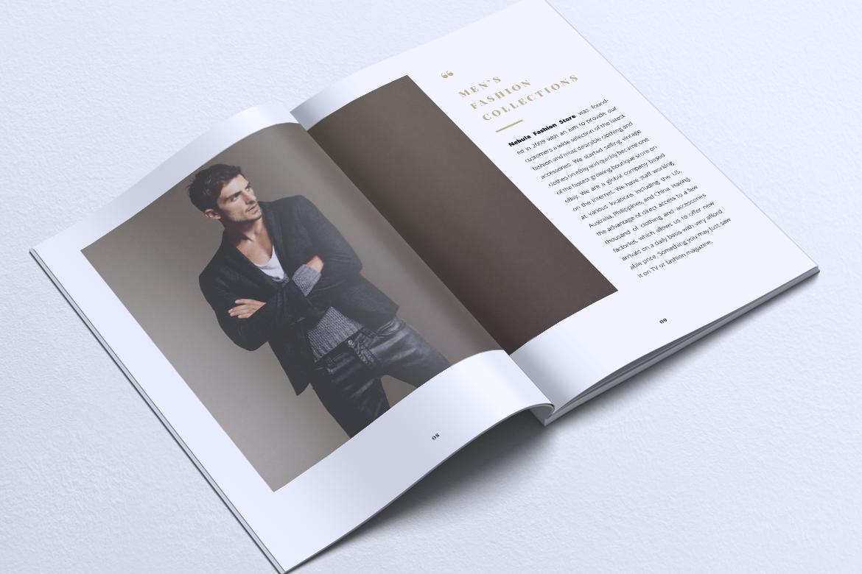 NEBULA Minimal Lookbook Magazine Styles example image 6