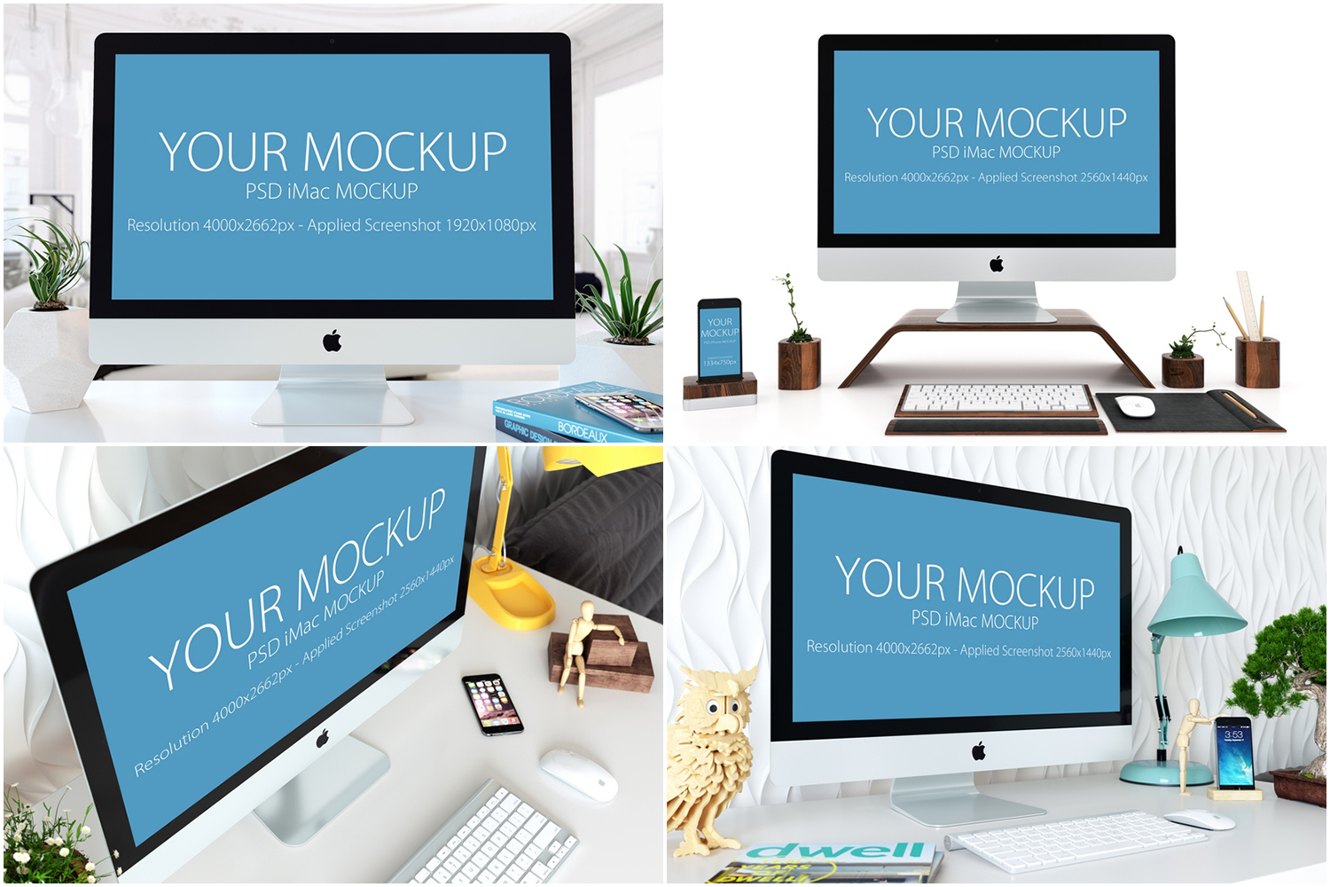 30 PSD Mock-ups Apple Devices example image 6