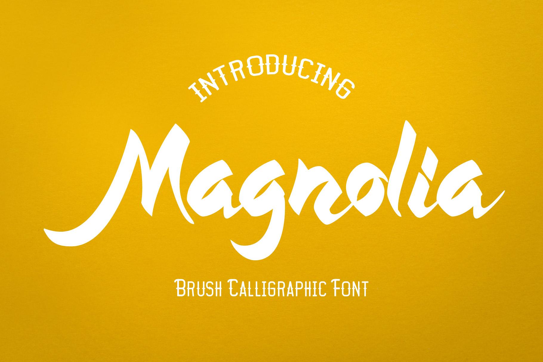 Magnolia - Callygraphic Font example image 1