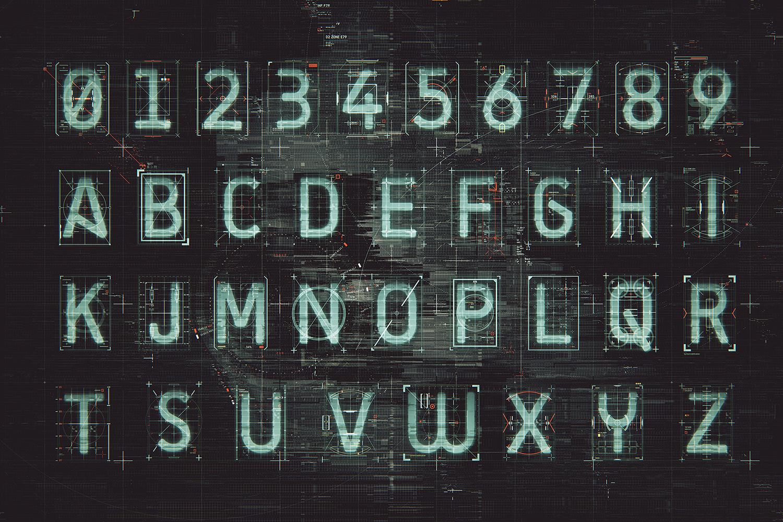 HUD Alphabet KIT example image 4
