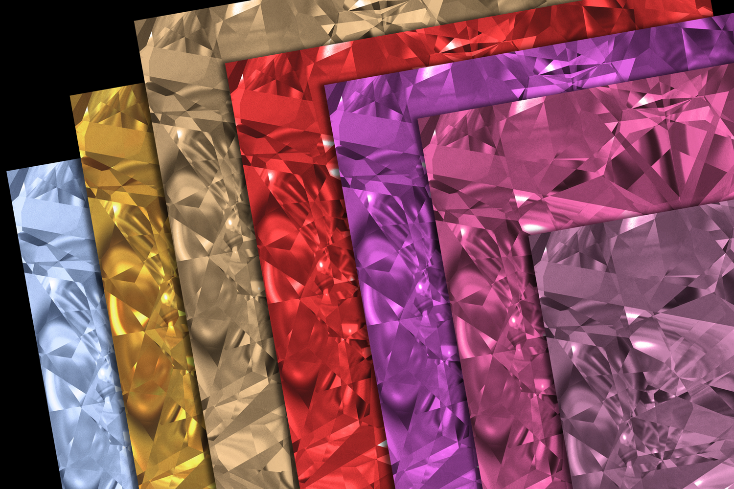 Gemstone Textures Pack 1 example image 2