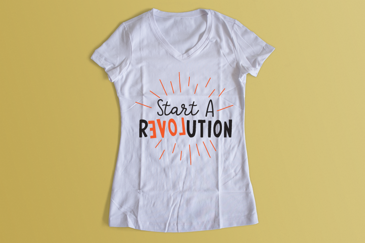 Revolution SVG Quote example image 2