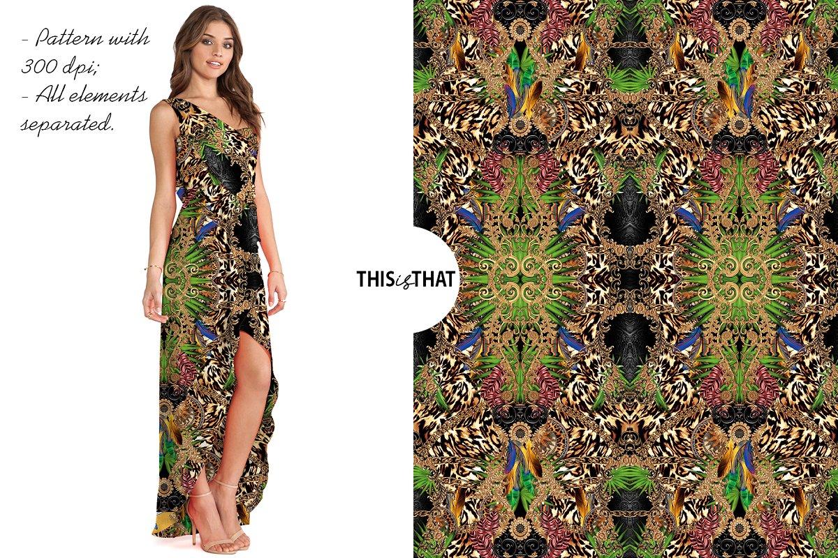 Mix Petterns Luxury example image 6