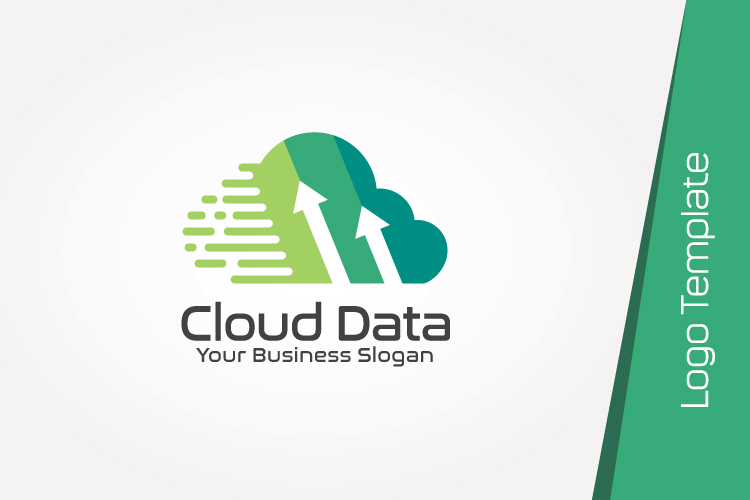 Cloud Data Logo Template example image 3