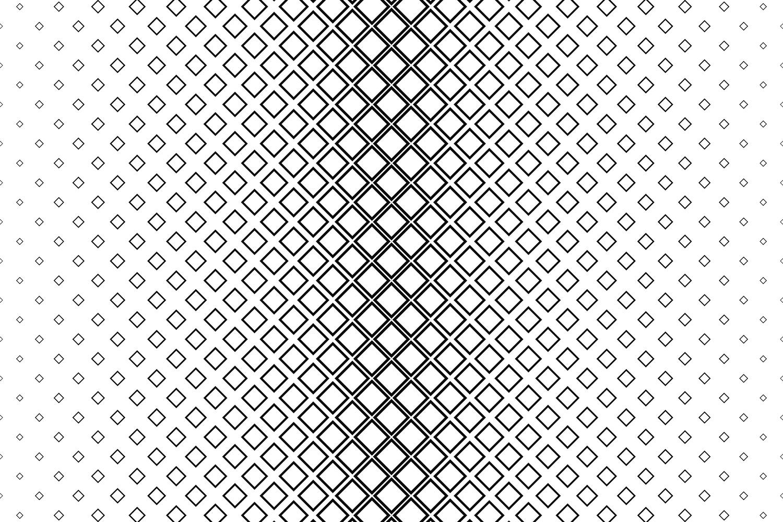 15 square patterns (EPS, AI, SVG, JPG 5000x5000) example image 2