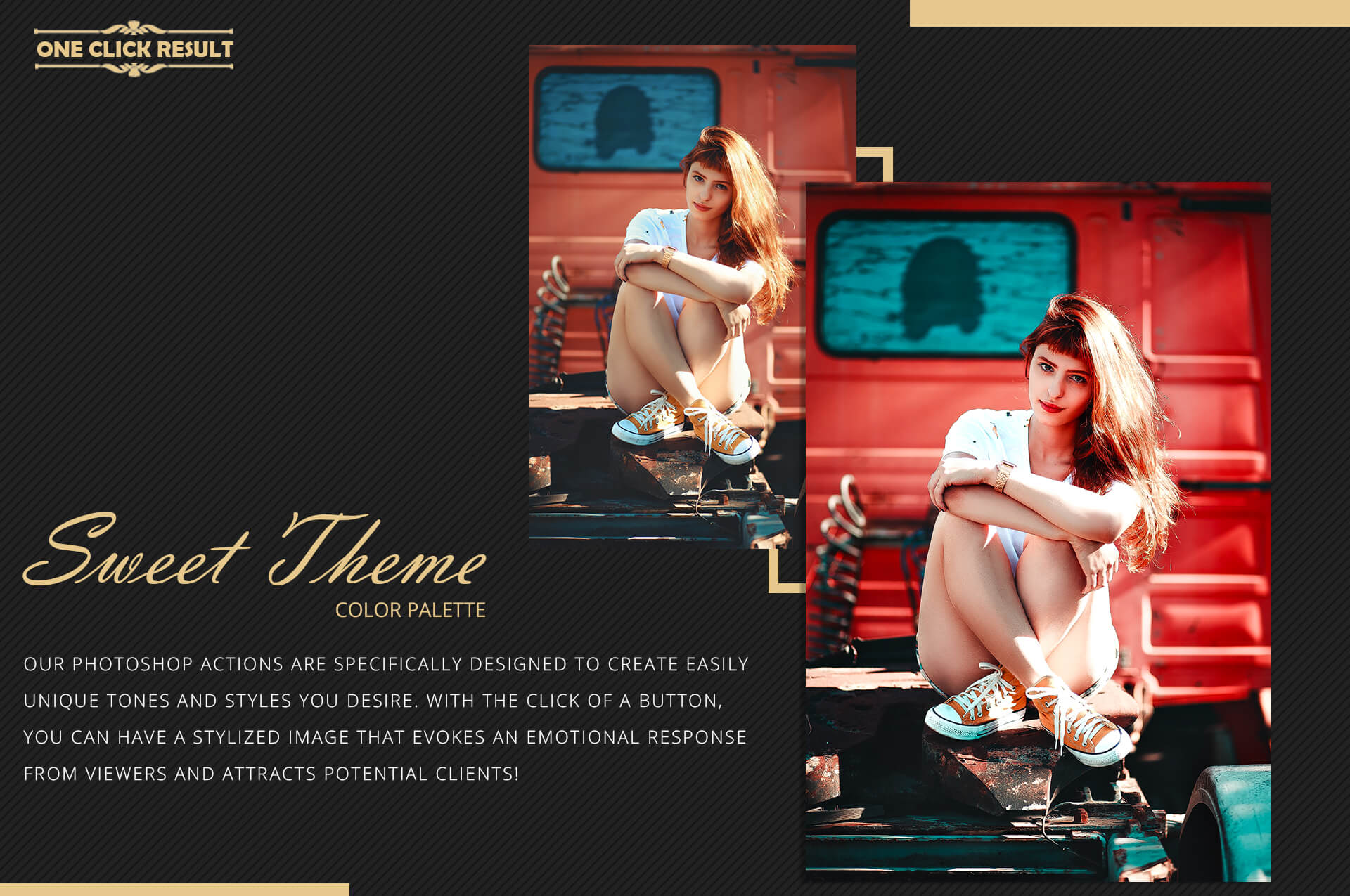 Neo Sweet Color Grading photoshop actions example image 7