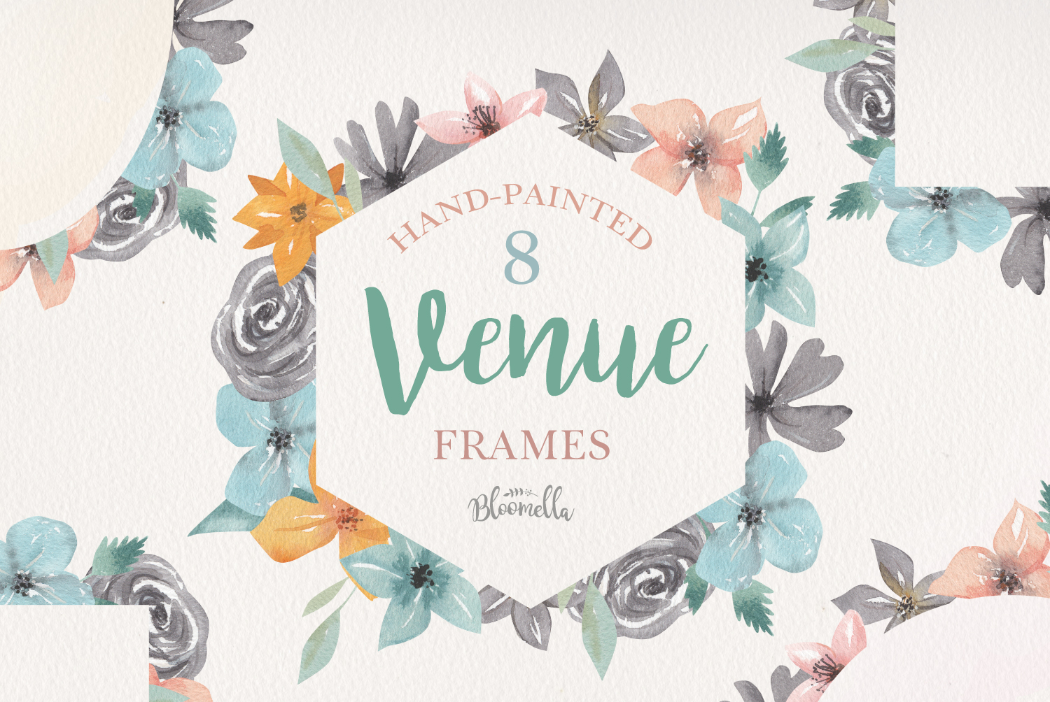 Hand-Painted Venue Frames example image 1