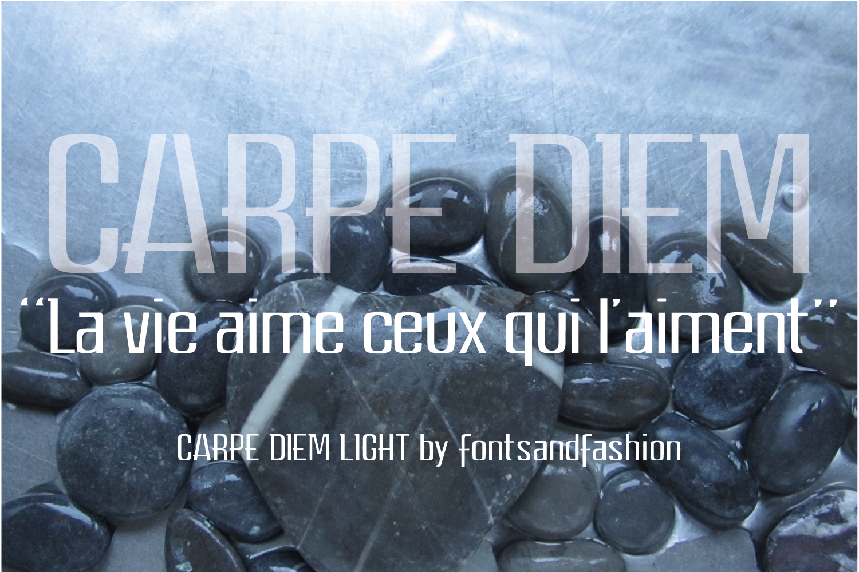 CARPE DIEM LIGHT example image 2